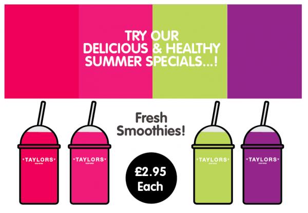 Taylors Summer Specials